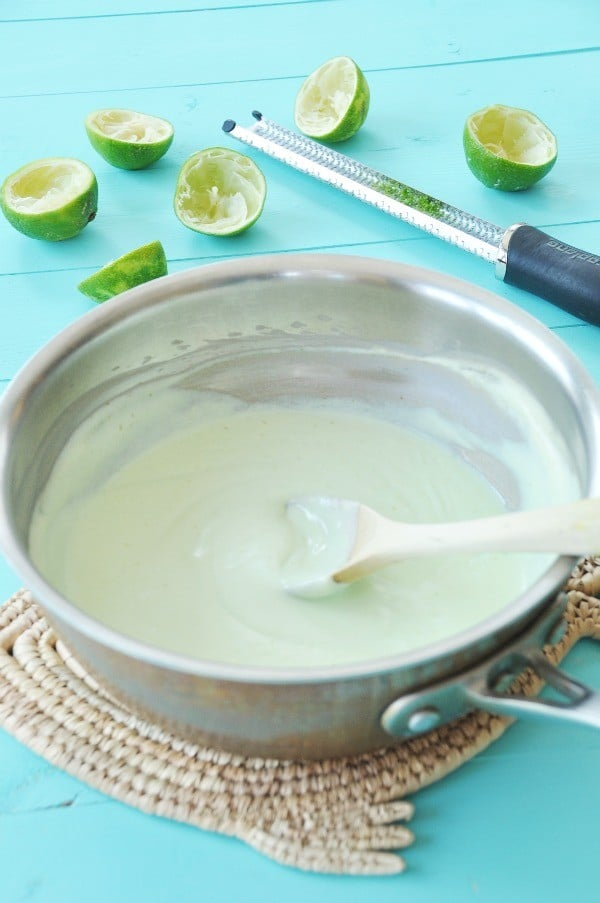 Vegan Key Lime Pie Filling