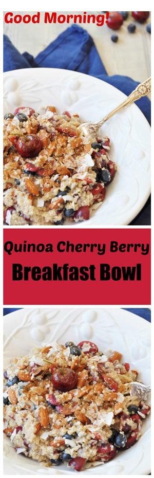 Quinoa-Cherry-Berry-Breakfast-Bowl-Collage