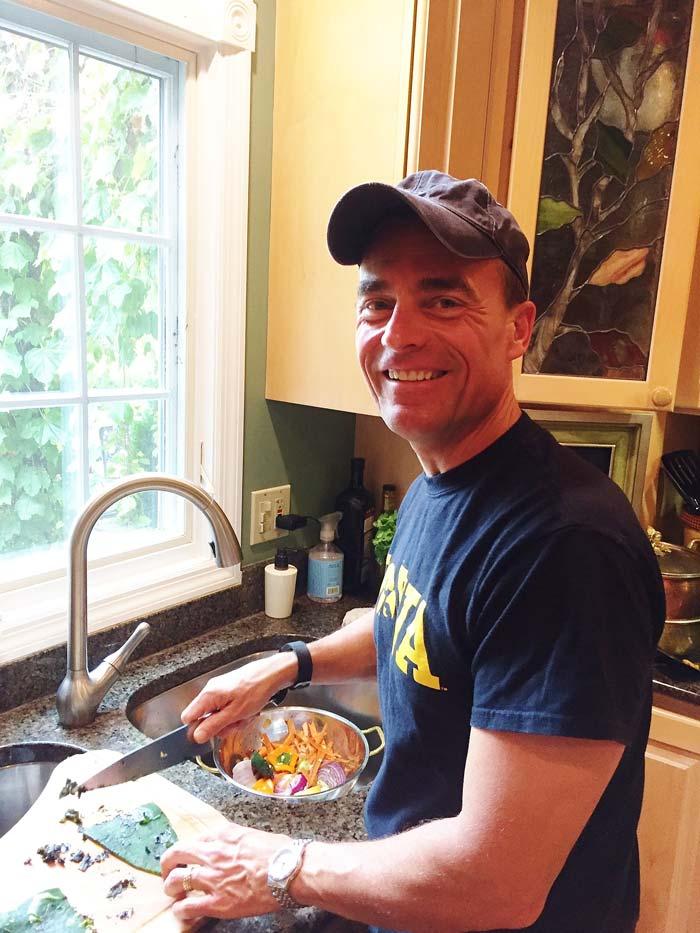 Greg-Cooking
