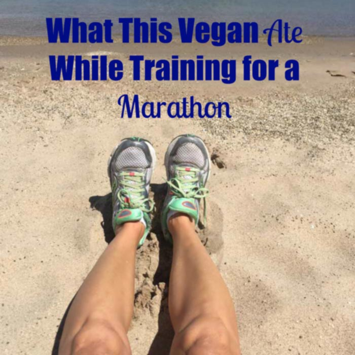 Check out all of the hearty and delicious plant-based foods I ate in one day while training for a marathon. I'm getting plenty of protein! www.veganosity.com