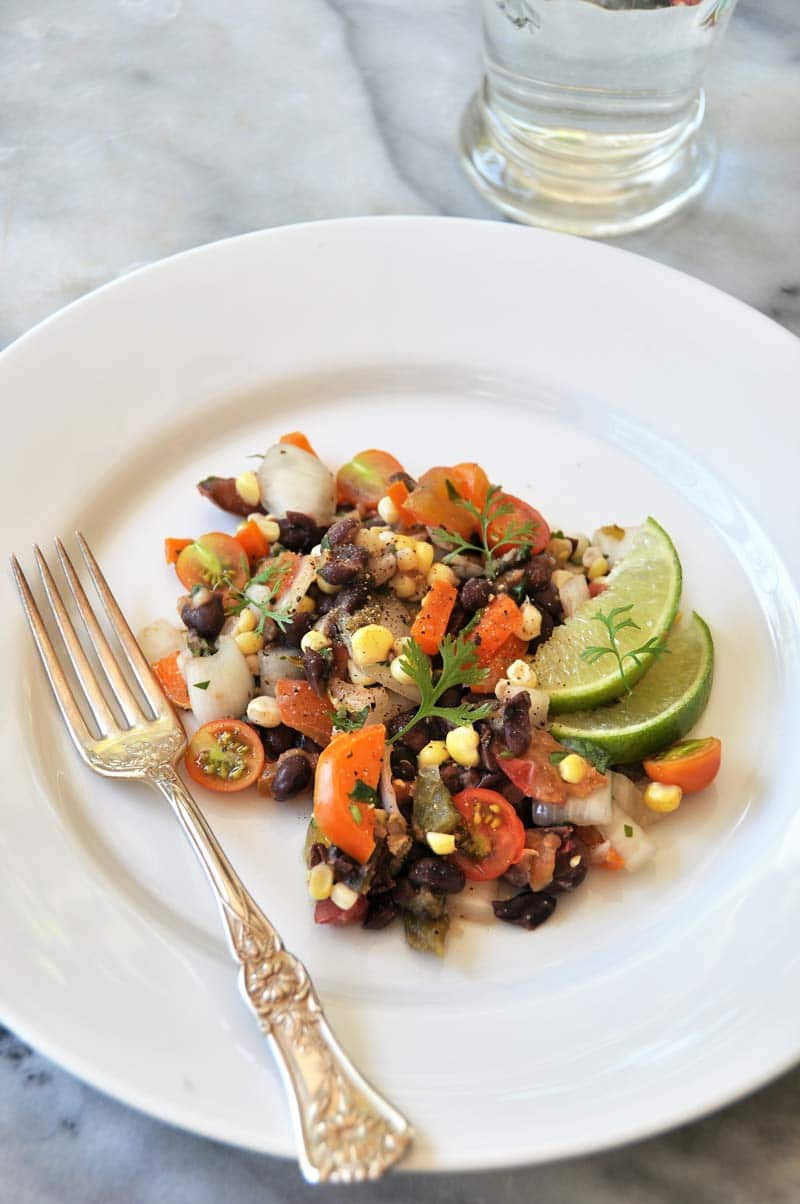 A healthy and savory Southwestern salad recipe that the whole family will love. Perfect for parties! www.veganosity.com