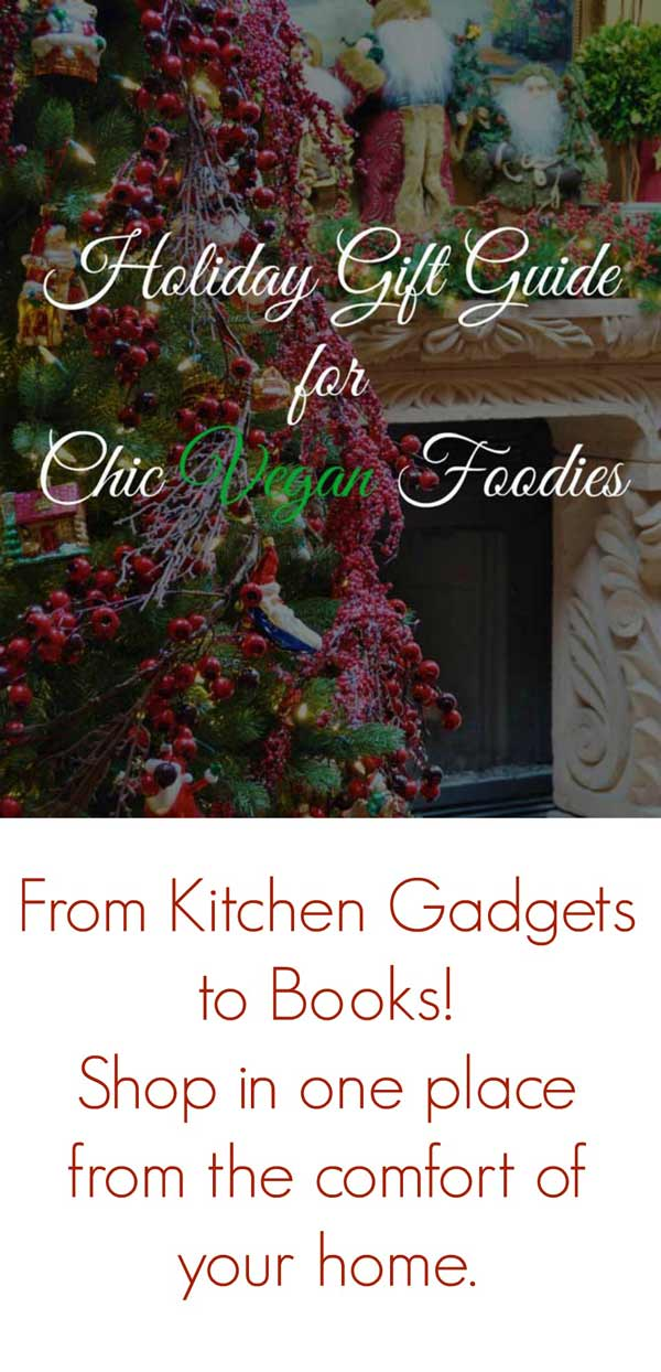 The ultimate holiday gift guide for vegan foodies! www.veganosity.com