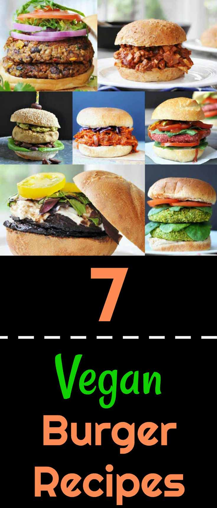 7 vegan burger and BBQ recipes for the summer. Easy and quick!