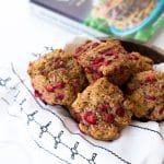 Lemon Strawberry Protein Muffins from The High Protein Vegan Cookbook