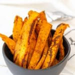 The Crispiest Sweet Potato Fries - Plain or Spicy