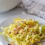 Napa Cabbage Salad with Toasted Almonds